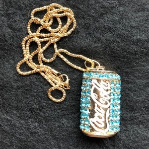 Jewelry - NOT A BJ!  COCA-COLA CAN NECKLACE